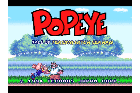 Popeye - Ijiwaru Majo Sea Hag no Maki (Japan) [En by ...